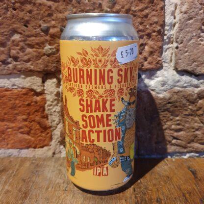Burning Sky - Shake Some Action (7%) 44cl (Ve)
