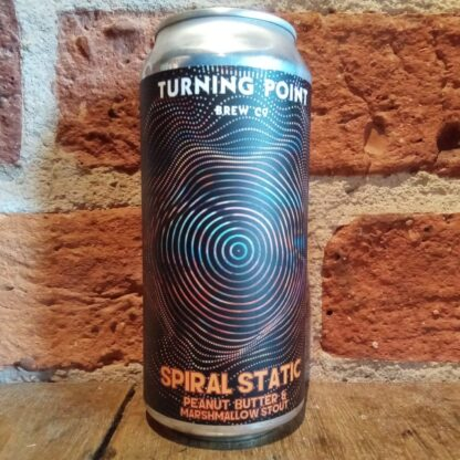spiral static turning point imperaial peanut butter and marshmallow stout